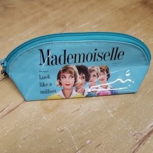 catseye london Bags - MADEMOISELLE MAKEUP BAG.  7x3x3 inches